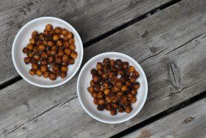 Crispy Cinnamon Chickpeas