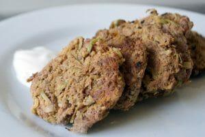 Cinnamon Sweet Potato and Apple Latkes