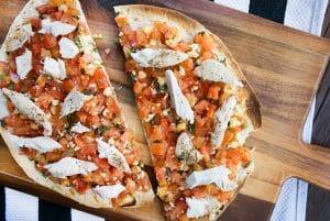 Bruschetta Flat Bread