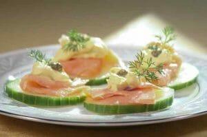 Cucumber Smoked Salmon